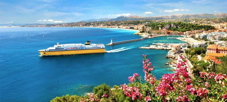 French Riviera With Italian Coast